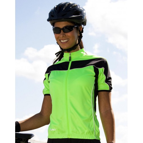 Ladies` Bike Full Zip Top