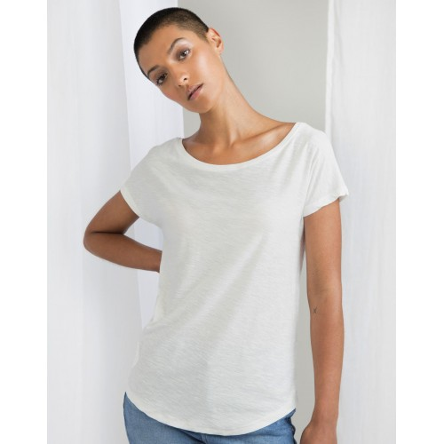 Women`s Organic Vintage Slub Loose Fit T