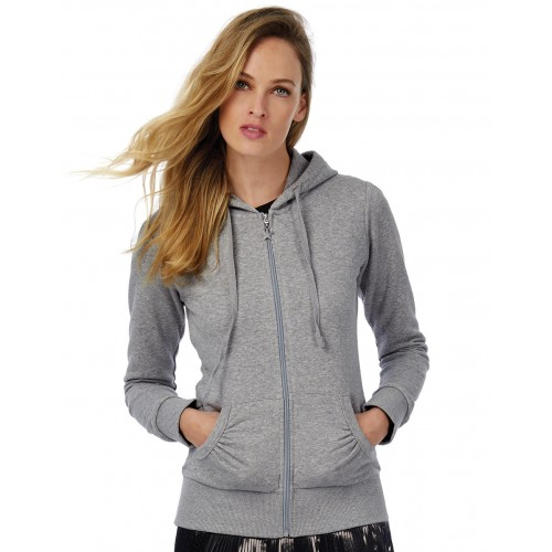 Wonder/women Hooded Zip Sweat