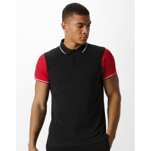 Fashion Fit Contrast Tipped Polo
