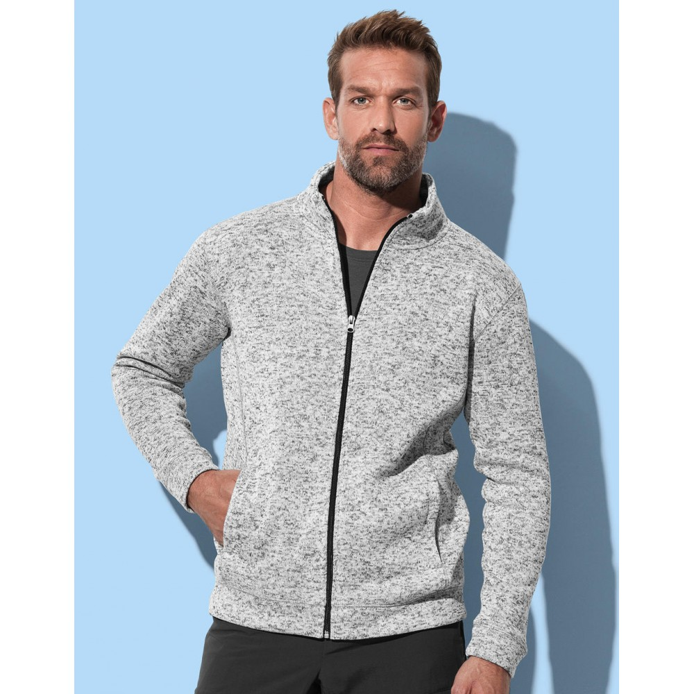 Active Knit Fleece Jacket Men