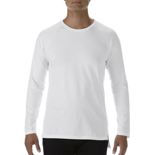 Long and Lean Raglan LS Tee
