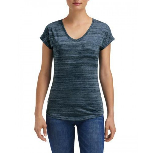 Women`s Streak V-Neck Tee