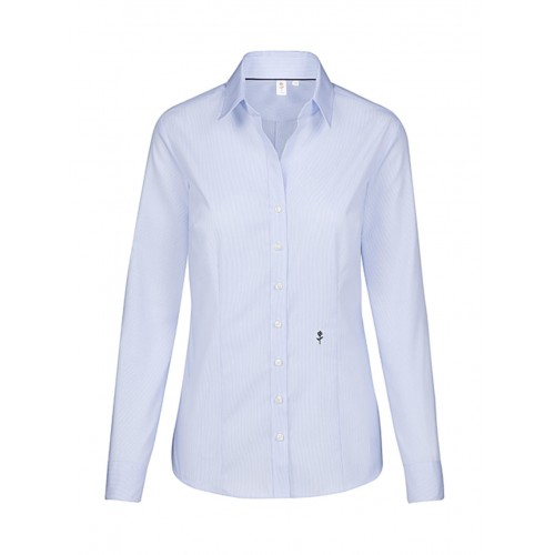 Seidensticker Ladies' Slim Fit Fine Liner Shirt LS