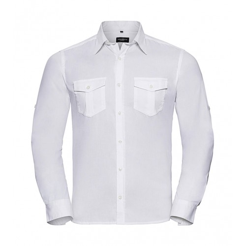 Men's Roll Sleeve Shirt LS
