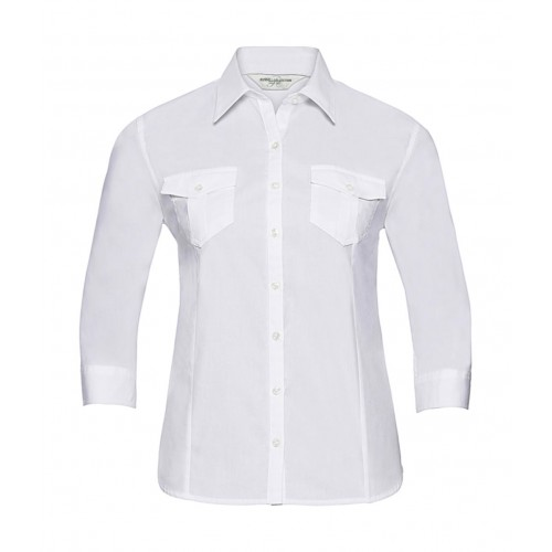 Ladies' Roll 3 4 Sleeve Shirt