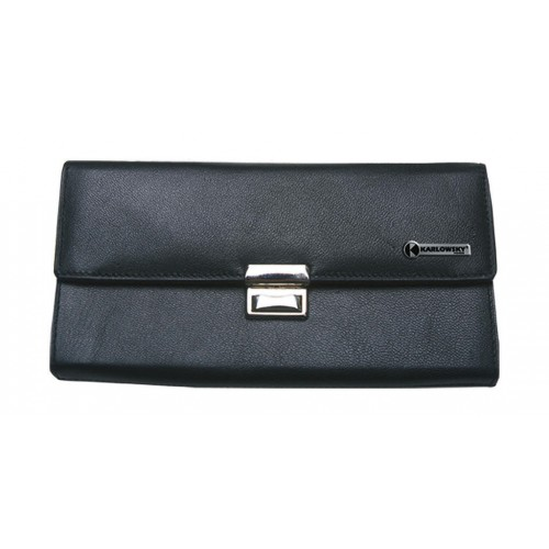 Leather Waiter`s Purse